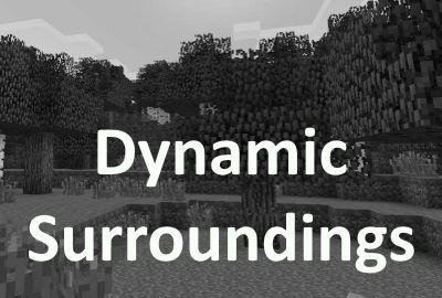 Dynamic Surroundings для Майнкрафт 1.8.9