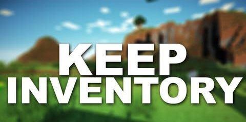 Keeping Inventory для Майнкрафт 1.7.10