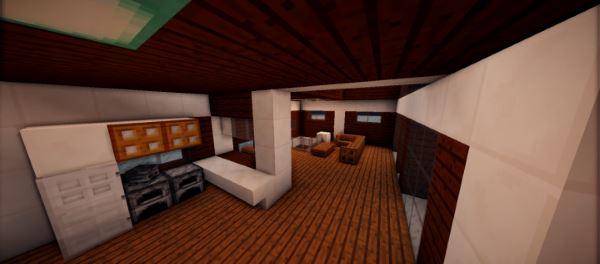 Small Modern House для Майнкрафт 1.8.9