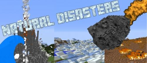 Natural disasters для Майнкрафт 1.8.9