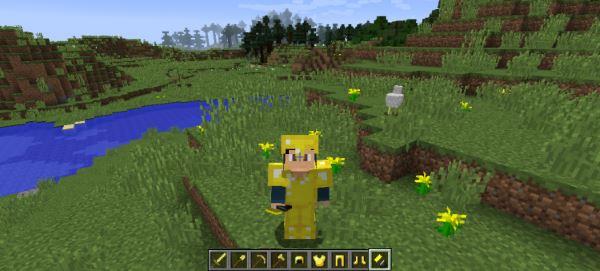 Better Golden Items для Майнкрафт 1.8