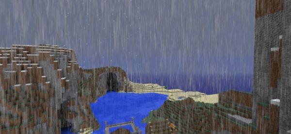 Realistic Rain для Майнкрафт 1.8.9