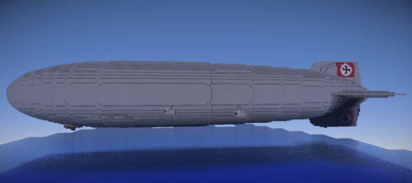 Hindenburg DLZ-129 для Майнкрафт 1.8.9