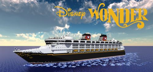 Disney Wonder для Майнкрафт 1.8.9
