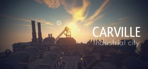 Carville: Industrial city (1900-1930) для Майнкрафт 1.8.9
