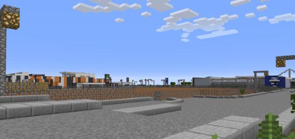 Everton Park Woolworths Shopping Centre для Майнкрафт 1.8.9
