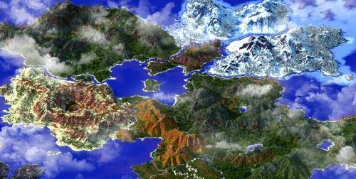 Kingdom Of Thariel для Майнкрафт 1.8.9