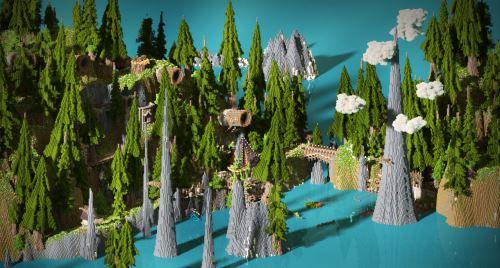 Brushwood Isles для Майнкрафт 1.8.9