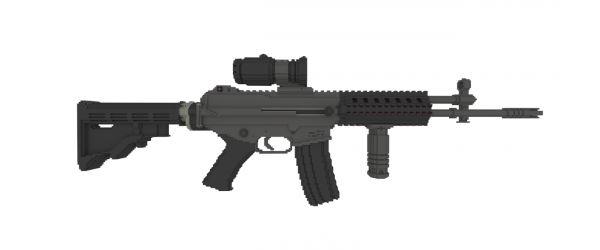 South Korean Rifle для Майнкрафт 1.8.9
