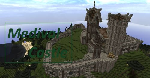 Medieval Castle для Майнкрафт 1.8.9