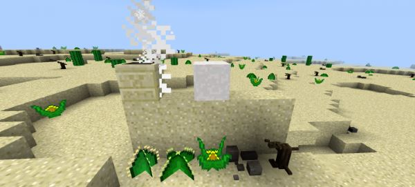Living Deserts для Майнкрафт 1.8