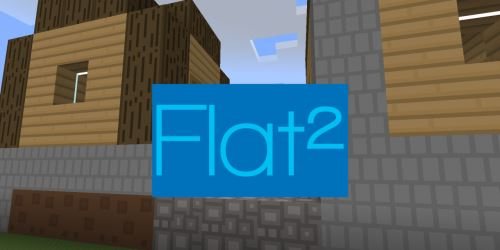 Flat² для Майнкрафт 1.9