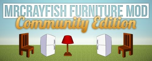 MrCrayfish's Furniture The Community Edition для Майнкрафт 1.8.9