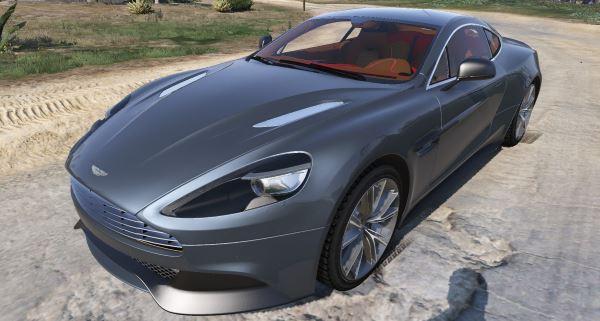 Aston Martin Vanquish 2012 для GTA 5