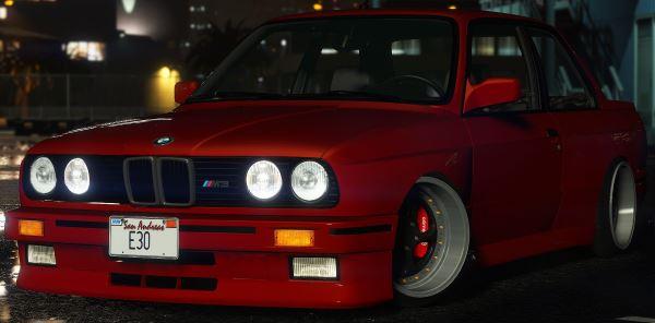 BMW M3 E30 1991 для GTA 5