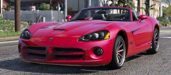 Dodge Viper SRT-10 Cabrio для GTA 5