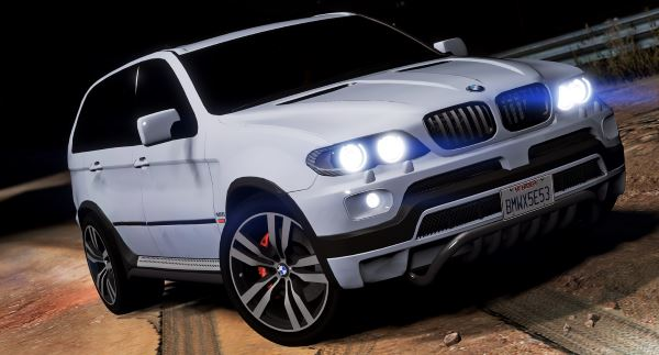 BMW X5 E53 2005 Sport Package для GTA 5