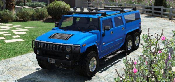 Hummer H6 для GTA 5
