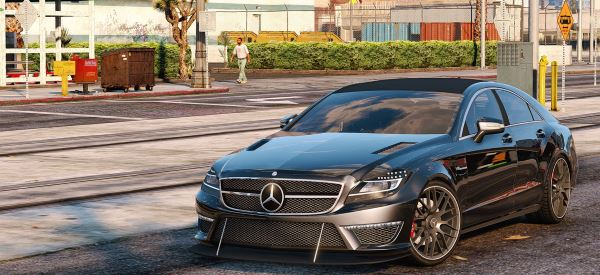 Mercedes-Benz CLS 6.3 AMG для GTA 5