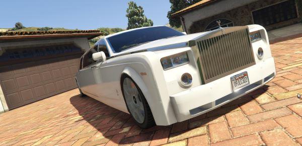 Rolls Royce Phantom Limousine для GTA 5
