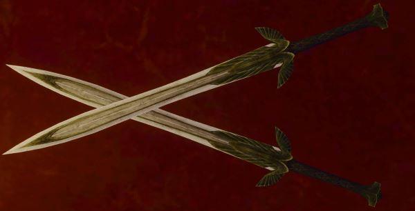 Lightbringer dual wielding sword для TES IV: Oblivion