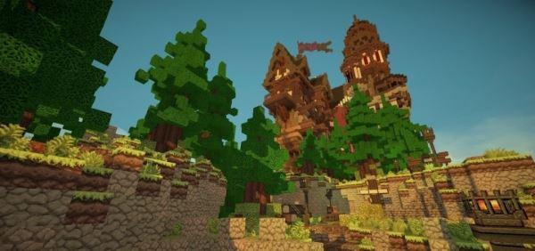 Medieval Playerhome для Майнкрафт 1.8.9