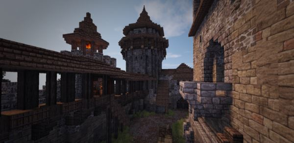 Penningham Castle для Майнкрафт 1.7.10