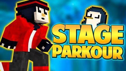 Stage Parkour для Майнкрафт 1.8.9