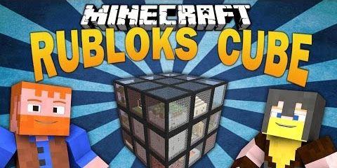 Rubloks Cube Survival для Майнкрафт 1.8.9