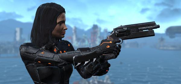 223 Pistol AKA That Gun для Fallout 4