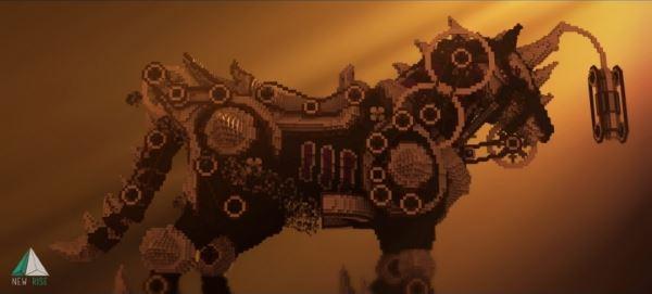 Механическая лошадь для Майнкрафт 1.8.9