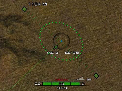 Артиллерийский прицел STING от Dikey93 для World of tanks 0.9.16