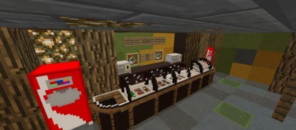 Еда из Subway для Майнкрафт 1.8