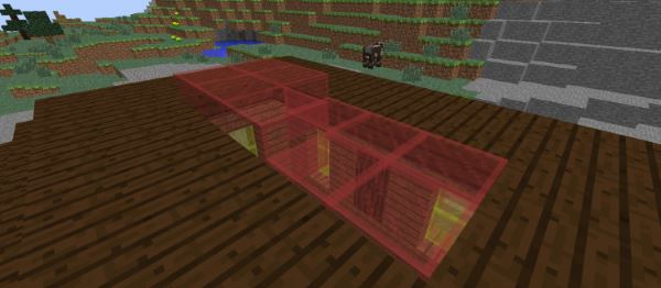 Горизонтальные стеклянные панели для Майнкрафт 1.8.9
