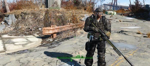 C.U.T.E Тактическая Портупея и аксессуары для Fallout 4