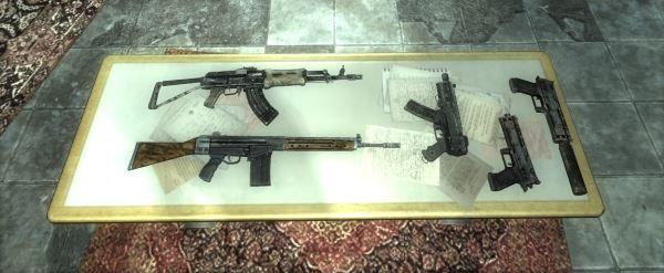 Классическое огнестрельное оружие для Fallout 3