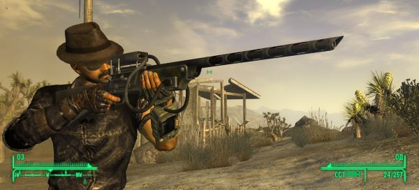 CFA - Classic Wattz 2000 Laser Rifle для Fallout: New Vegas