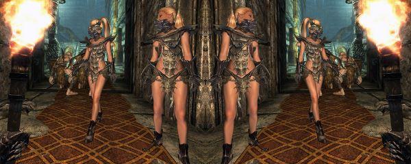 Фалмерские женщины v 2 для TES V: Skyrim