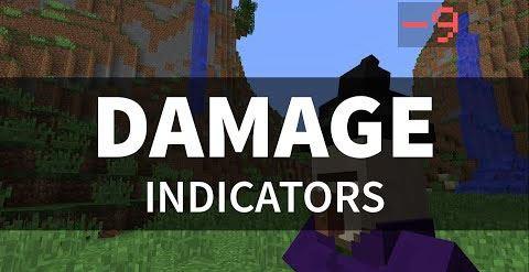 Damage Indicators для Майнкрафт 1.9
