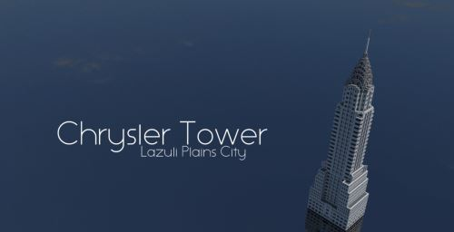 Chrysler Tower для Майнкрафт 1.8.9
