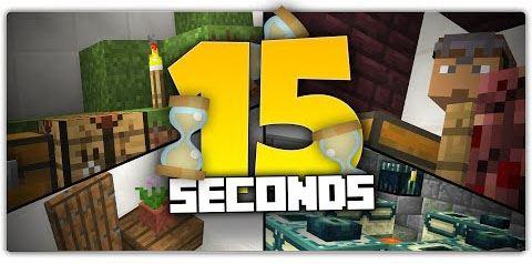 15 Seconds Puzzle для Майнкрафт 1.8.9