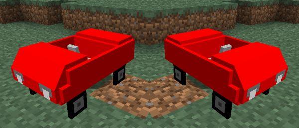 Cars and Drives для Майнкрафт 1.8