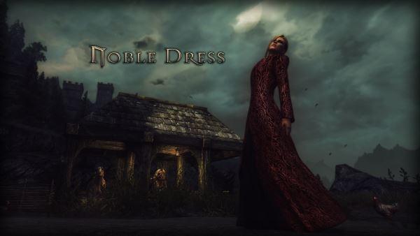 Noble Dress для TES V: Skyrim