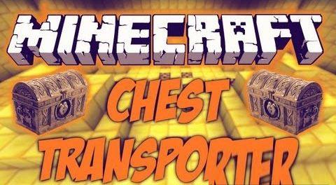 Chest Transporter для Майнкрафт 1.8.9