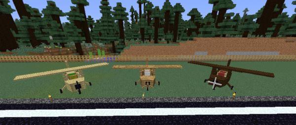 Flight Simulator для Майнкрафт 1.7.10