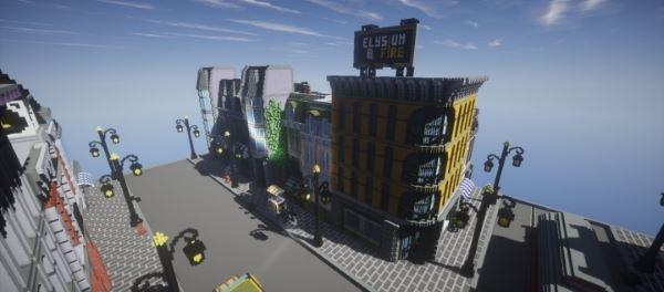 Lego City для Майнкрафт 1.8.9