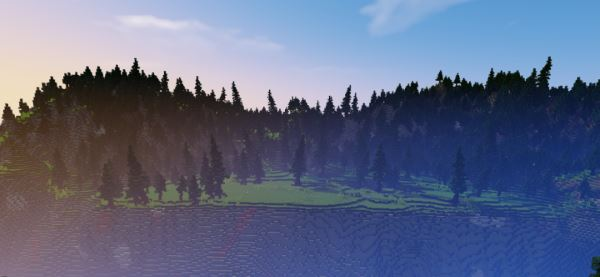 Custom Terrain for bridge building для Майнкрафт 1.8.9