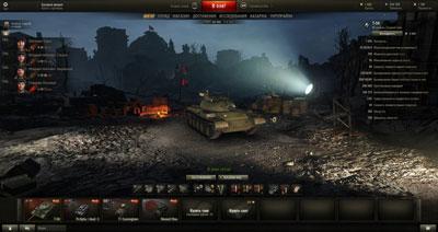 Праздничный ангар к 9 мая для World of Tanks 0.9.16