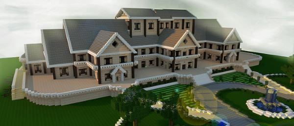 Luxury Mansion для Майнкрафт 1.8.9