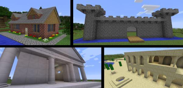ArchitectureCraft для Майнкрафт 1.8.9